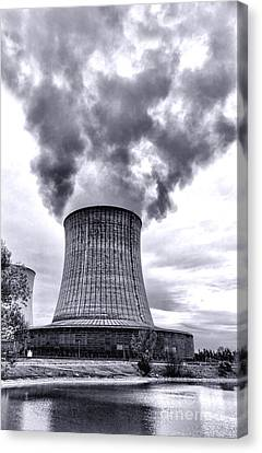 Gone Nuclear Canvas Print by Olivier Le Queinec