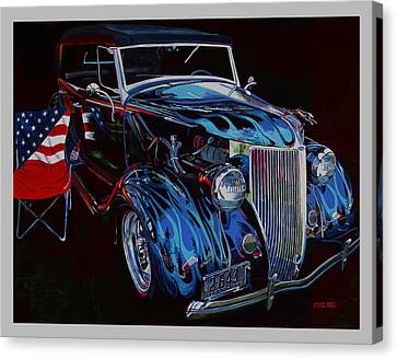 Gone To Iraq Canvas Print by Mike Hill