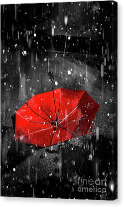Gone With The Rain Canvas Print by Jorgo Photography - Wall Art Gallery
