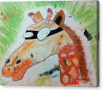 gOOd baDDies Canvas Print by Simon Shepherd