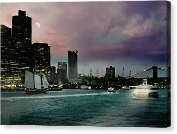 Good Bye Girl Canvas Print by Diana Angstadt