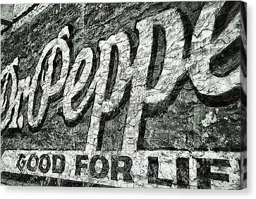 Good For Life Canvas Print by Pair of Spades