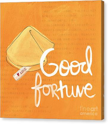 Good Fortune Canvas Print by Linda Woods