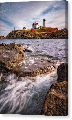 Good Morning Nubble Canvas Print by Darren White
