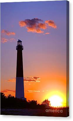 Good Night Barnegat Canvas Print by Olivier Le Queinec