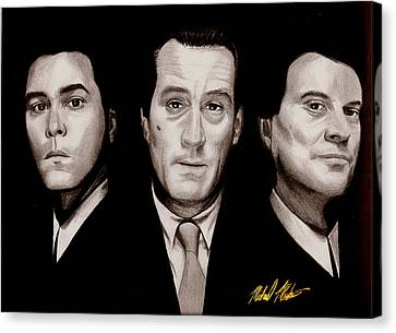 Goodfellas Canvas Print by Michael Mestas