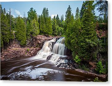 Gooseberry Falls Canvas Print by Paul Freidlund