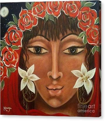Gospel Of Forgiveness Canvas Print by Maya Telford