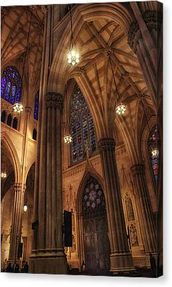 Gothic Arches Canvas Print by Jessica Jenney