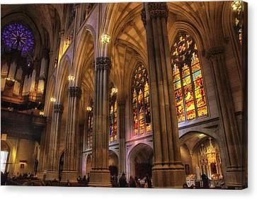 Gothic Glory Canvas Print by Jessica Jenney