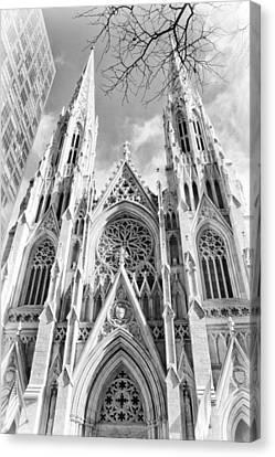 Gothic Glow Canvas Print by Jessica Jenney