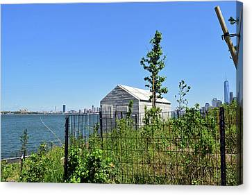 Governors Island Canvas Print by Sandy Taylor