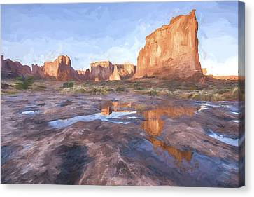Grand Arches IIi Canvas Print by Jon Glaser
