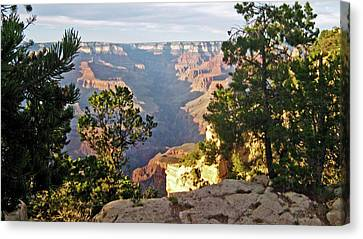 Grand Canyon No. 1 Canvas Print by Sandy Taylor