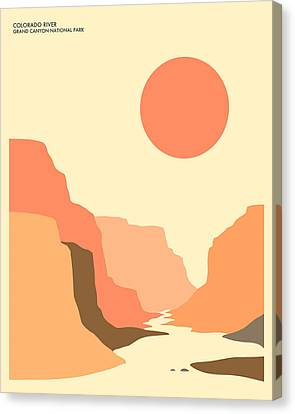 Grand Canyon National Park Canvas Print by Jazzberry Blue