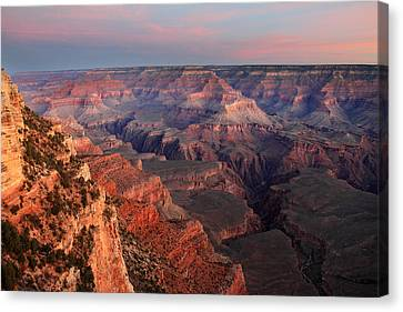 Grand Canyon Sunrise Canvas Print by Pierre Leclerc Photography