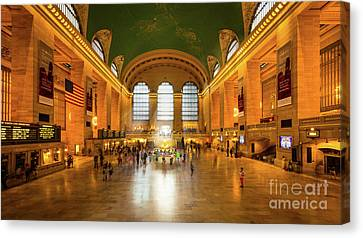 Grand Central Canvas Print by Inge Johnsson