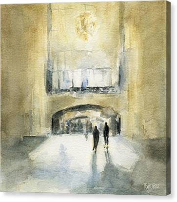 Grand Central Terminal Light Canvas Print by Beverly Brown