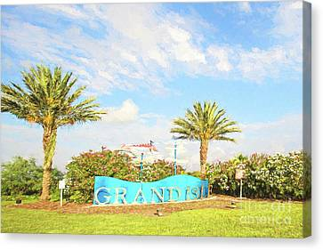 Grand Isle  Canvas Print by Scott Pellegrin