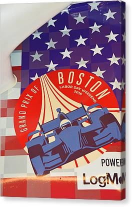 Grand Prix Of Boston Canvas Print by Mike Martin