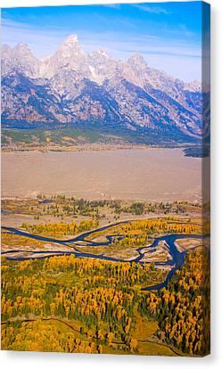 Grand Tetons Views Canvas Print by James BO  Insogna
