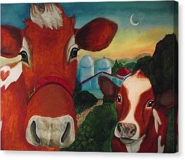 Grandma Josephine's Farm Canvas Print by Nichole Williamson