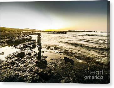 Granville Harbour Sunrise Canvas Print by Jorgo Photography - Wall Art Gallery