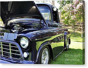 Grape Fully Blown Pickup Canvas Print by Clayton Bruster