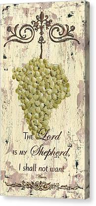 Grapes And Grace 2 Canvas Print by Debbie DeWitt