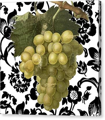 Grapes Suzette II Canvas Print by Mindy Sommers