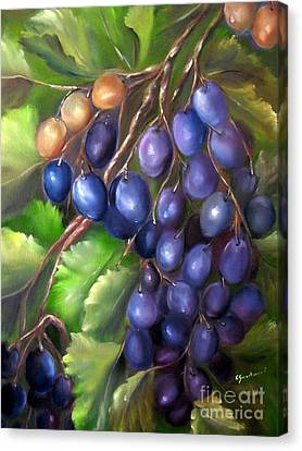 Grapevine Canvas Print by Carol Sweetwood