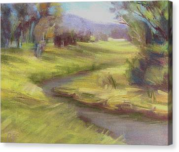 Grassy Meadow Canvas Print by Patricia Seitz