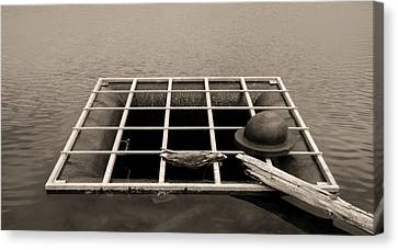 Grate Art Canvas Print by Don Spenner