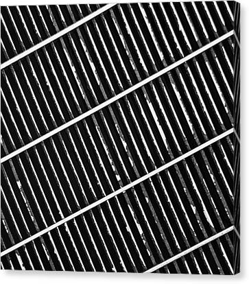 Grate Canvas Print by KM Corcoran
