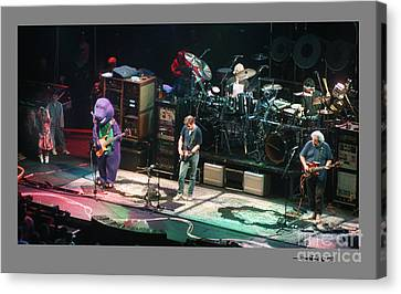 Grateful Dead Jammin With Barney Canvas Print by Jonathan Fine