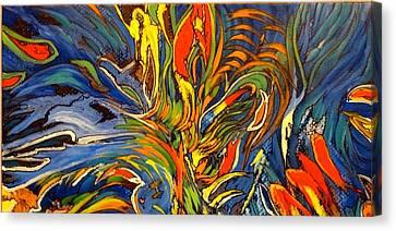 Gravity Two Canvas Print by Charles Munn