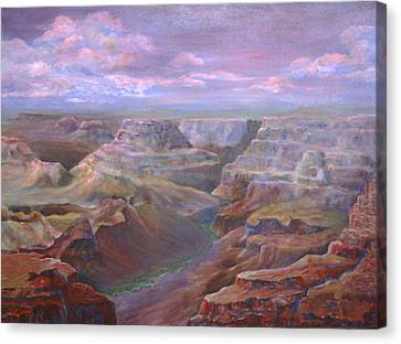 Greand Canyn Canvas Print by Dottie Mitchell