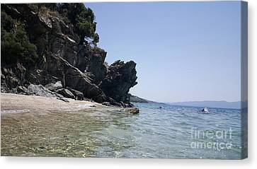 Greece - The Pelion Canvas Print by Adriana Zoon