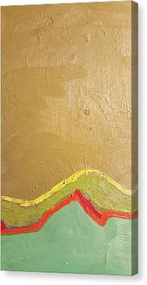 Green 11 Canvas Print by Radoslaw Zipper