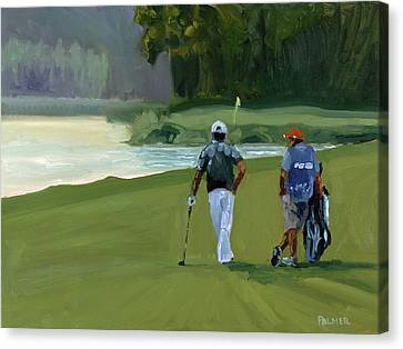 Green Ambition Canvas Print by Scott Palmer