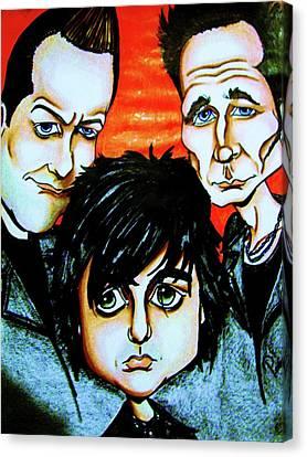 Green Day Canvas Print by Penny  Elliott