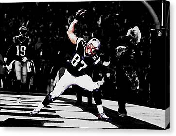 Gronk Canvas Print by Brian Reaves