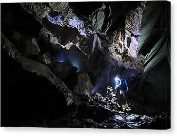 Grotta Del Pugnetto Canvas Print by Marco Barone