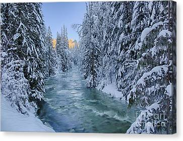 Grouse Creek 2 Canvas Print by Idaho Scenic Images Linda Lantzy