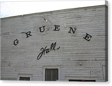 Gruene Canvas Print by Ginna Kincaide
