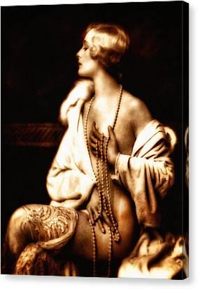 Grunge Goddess Canvas Print by Georgiana Romanovna