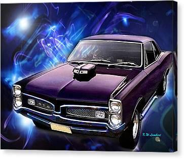 GTO Canvas Print by Kenneth Lambert