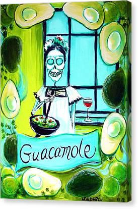 Guacamole Canvas Print by Heather Calderon
