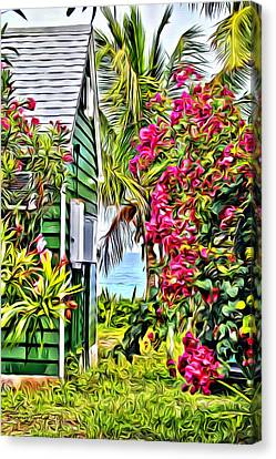 Guana Home Canvas Print by Anthony C Chen