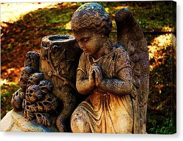 Guardian Angel Canvas Print by Helen Carson